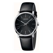 Calvin Klein 卡爾文·克萊因 Posh 系列 銀黑色男士時裝腕表 K8Q311C1