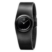 近期低價!Calvin Klein 卡爾文·克雷恩 Impulsive 系列 全黑女士時裝腕表 K3T23421