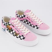 Vans 萬斯 Style 36 粉色蝴蝶花卉低幫鞋
