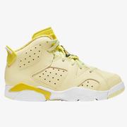 【額外7.5折】喬丹 Air Jordan Retro 6 中童款籃球鞋 花卉黃