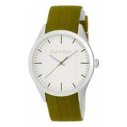 Calvin Klein 卡爾文·克雷恩 Color 系列 橄欖綠色男士時裝腕表 K5E51FW6