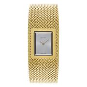 Calvin Klein 卡爾文·克萊因 Mesh 系列 金色女士時裝腕表 K5L13536