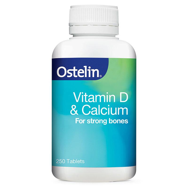 【最高滿減12澳】Ostelin 維生素D+鈣片 250片