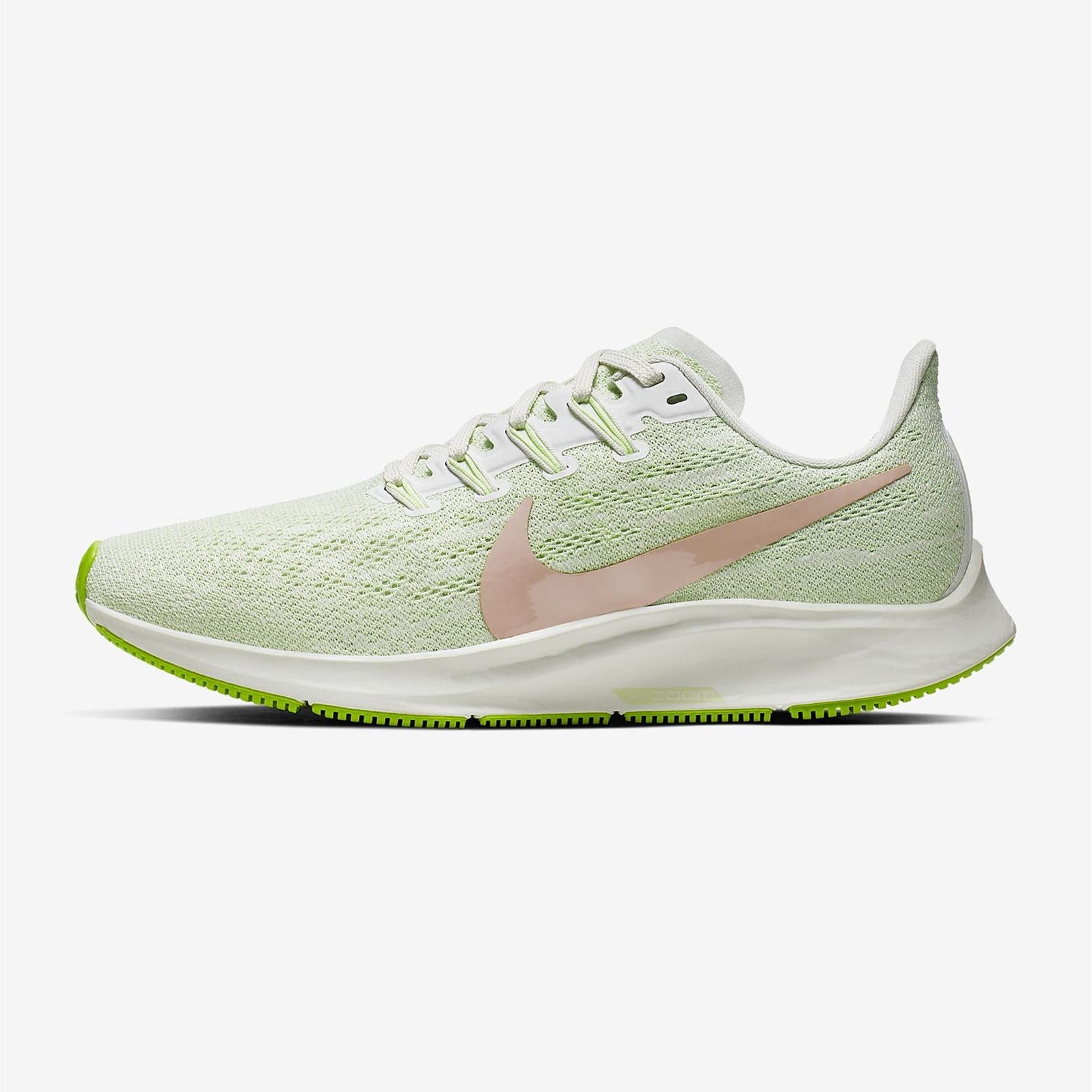 Nike 耐克 Air Zoom Pegasus 36 綠色女子跑步鞋