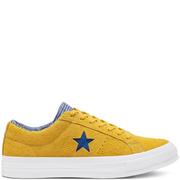 Converse 匡威 One Star 芥末黃色低幫鞋