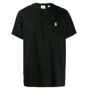 部分尺碼定價好~BURBERRY logo刺繡T恤