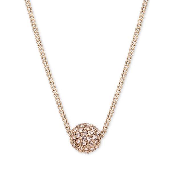 【雙色】Givenchy 紀梵希 玫瑰金星球水晶項鏈