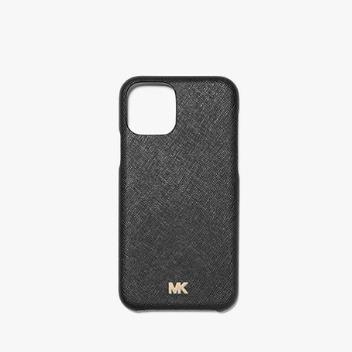 【額外7.5折】Michael Kors 十字紋真皮手機殼 iPhone 11