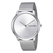 Calvin Klein 卡爾文·克萊因 Minimal 系列 銀色男士時裝腕表 K3M211Y6