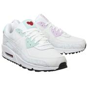 Nike 耐克 Air Max 90 鴛鴦配色白色運動鞋