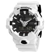 【55專享】近期低價!Casio 卡西歐 G-Shock 系列 黑白男士運動腕表 GA-700-7ACR