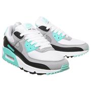 Nike 耐克 Air Max 90 灰綠色拼接運動鞋