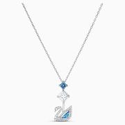 Swarovski 施華洛世奇 125周年紀念款 藍調天鵝吊墜項鏈