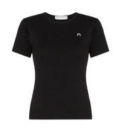 MARINE SERRE 月亮logo刺繡T恤