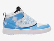 【碼全】Jordan 喬丹 Sky Jordan 1 Fearless (PS) 中童款運動鞋 藍色云朵配色