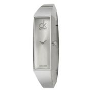 近期低價!Calvin Klein 卡爾文·克雷恩 Section 系列 銀色女士時裝腕表 K1L23120