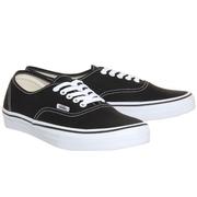 Vans 萬斯 Authentic 經典黑色低幫鞋
