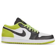 喬丹 Air Jordan 1 Low 男子低幫板鞋 熒光綠