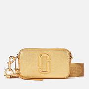 Marc Jacobs 女款 Snapshot 金色相機包
