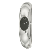 Calvin Klein 卡爾文·克萊恩 Exquisite 系列 銀黑色女士時裝腕表 K1Y22102