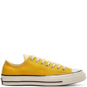 Converse 匡威 Chuck 70 黃色低幫帆布鞋