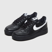 Nike 耐克 Air Force 1 女款黑白空軍一號運動鞋