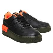 Nike 耐克 Air Force 1 空軍1號 黑橙色運動鞋