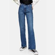Topshop 直筒女士牛仔褲