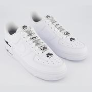 Nike 耐克 Air Force 1 Lv8 空軍1號 黑白拼色運動鞋