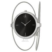 Calvin Klein 卡爾文·克雷恩 Agile 系列 銀黑色女士時裝腕表 K2Z2S111