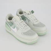Nike 耐克 Air Force 1 空軍1號 綠色拼接運動鞋