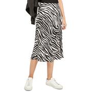 【低至6折】Theory Modern Zebra Twill 斑馬紋長裙