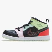 喬丹 Air Jordan 1 Mid 嬰兒學步鞋 線條