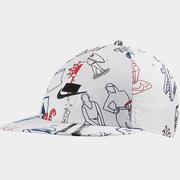 【額外7折】Nike 耐克 Sportswear 涂鴉運動帽