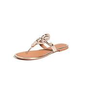 【小碼有貨】TORY BURCH Miller 金屬色涼鞋