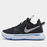 Nike 耐克 PG4 大童款籃球鞋 黑白