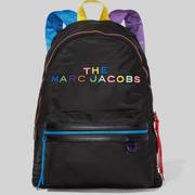 Marc Jacobs 小馬哥 The Pride 彩虹刺繡雙肩包