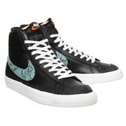 Nike 耐克 Blazer Mid 77  黑色運動鞋
