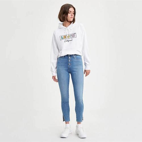 【3.5折】Levi's 李維斯721高腰女式牛仔褲