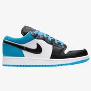 【新】喬丹 Air Jordan 1 Low 大童款低幫籃球鞋 激光藍