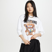 【斷碼福利】Moschino 泰迪熊印花運動衫