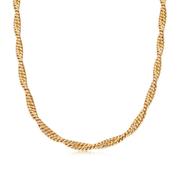 Missoma 金色雙鏈扭曲項鏈