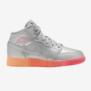 【額外7.5折】Jordan AJ 1 Mid 女童籃球鞋
