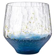 3件9折!【中亞Prime會員】日本 東洋佐佐木江戸硝子 八千代 星空杯 純金箔玻璃杯
