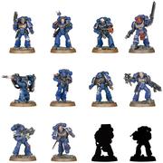 3件9折!【中亞Prime會員】WarHammer 泰拉戰錘40K 太空戰士英雄系列  集換式組裝塑料模型 24個裝