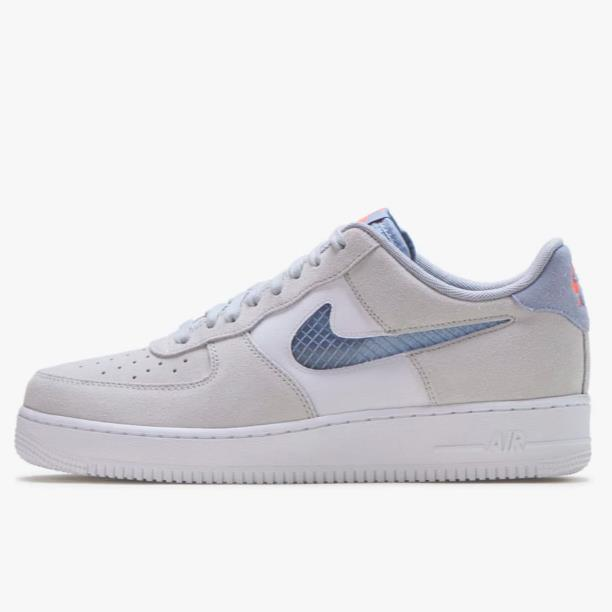 【新】Nike 耐克 Air Force 1'07 LV8 男子板鞋 Indigo Fog