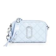 【最后一只】The Marc Jacobs The Softshot 21 藍色絎縫包包