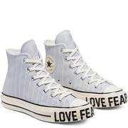 Converse 匡威 Love Fearlessly Chuck 70 嬰兒藍色高幫鞋