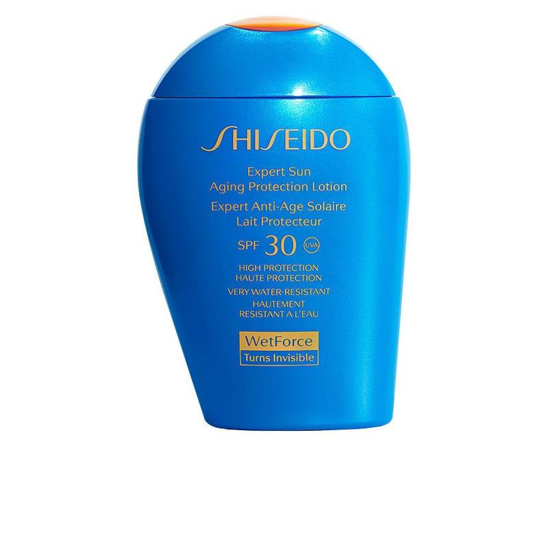 【限時包稅+直降8.2折】Shiseido 資生堂 新艷陽夏臻效水動力防曬乳液 藍胖子 SPF30 100ml