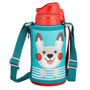 【中亞Prime會員】Tiger 虎牌不銹鋼保溫保冷兒童直飲水杯 兔子款 600ml